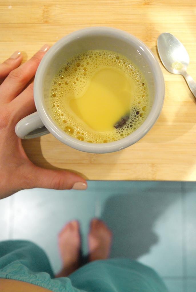 Receta leche dorada